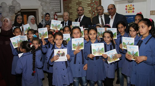 Talal Abu-Ghazaleh Library inaugurated at Ohod Elementary School for Girls in Marka District