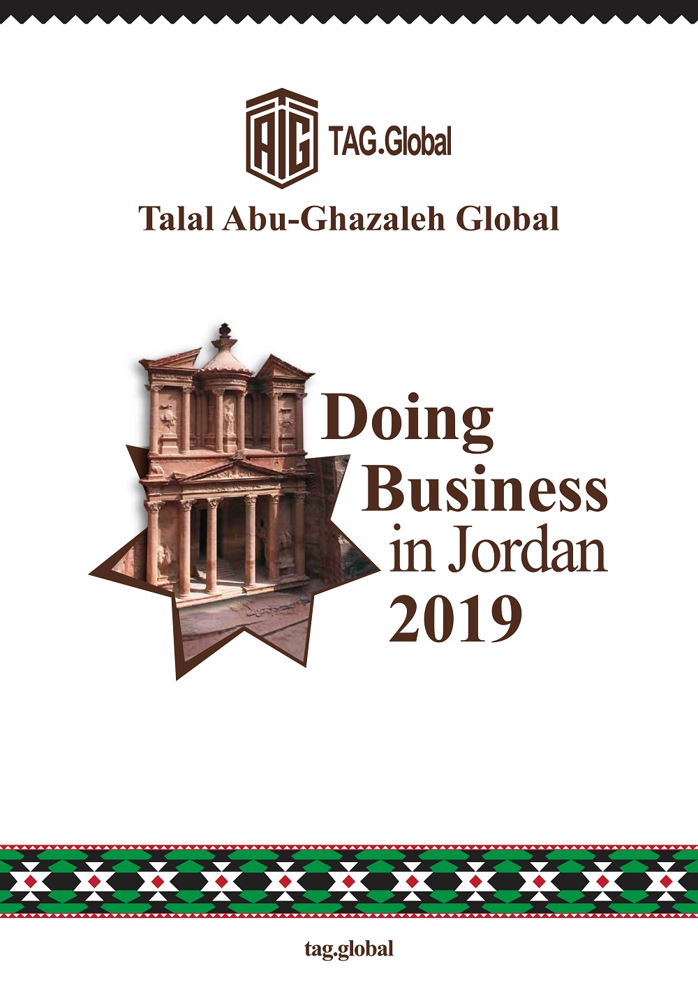 Abu-Ghazaleh Global Issues 'Doing Business in Jordan, A Comprehensive Guide 2019'