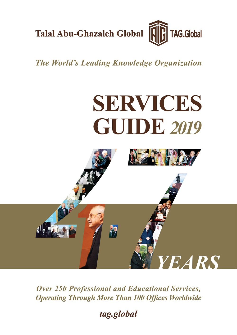 Talal Abu-Ghazaleh Global Launches its 2019 Services Guide