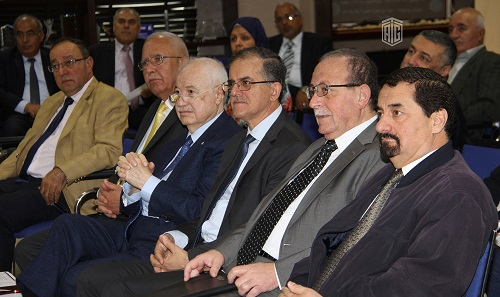 "HE Dr. Talal Abu-Ghazaleh patronizes a scientific day entitled: ""Digital Jordan 2020 or 2040 between Reality and Ambition"" organized by Jordan Engineers Association and Talal Abu-Ghazaleh Knowledge Forum"