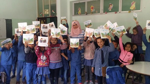 Talal Abu-Ghazaleh Organization distributes 1300 copies of 'Talal Ibn Adeebah' story, establishes library section at Al Marqab Secondary School