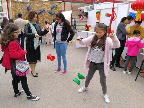 Talal Abu-Ghazaleh- Confucius Institute (TAG-Confucius) participates in the Festival of Creativity, Actions and Service (CAS) at Cambridge School