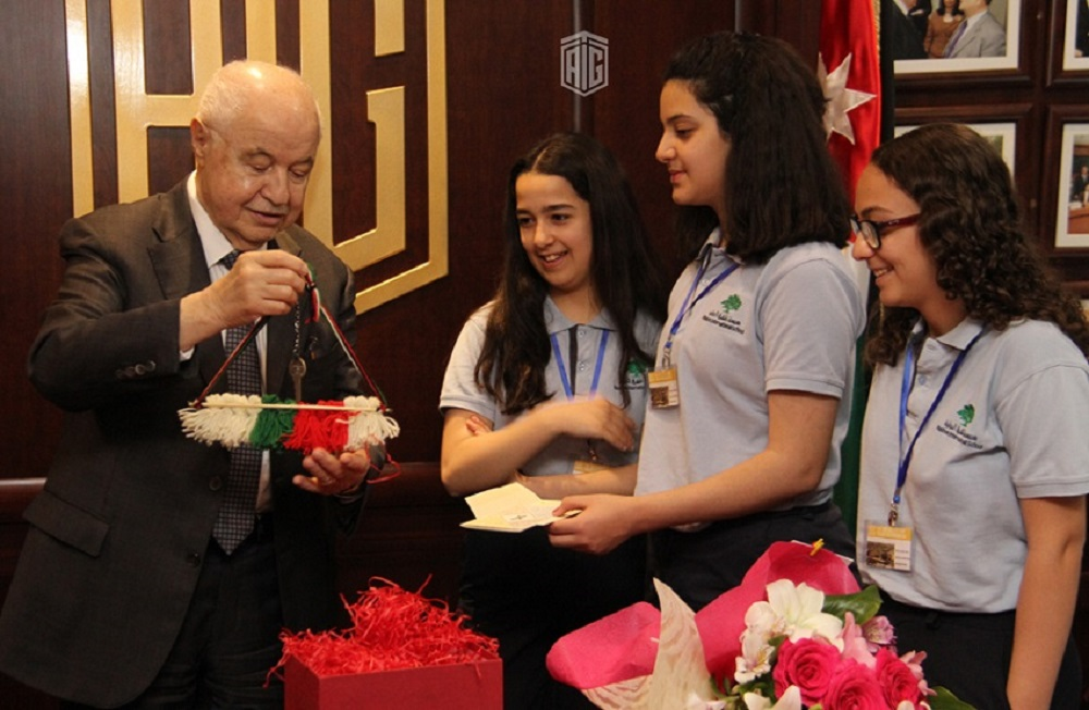 Abu Ghazaleh welcomes Al-Mashrek School students