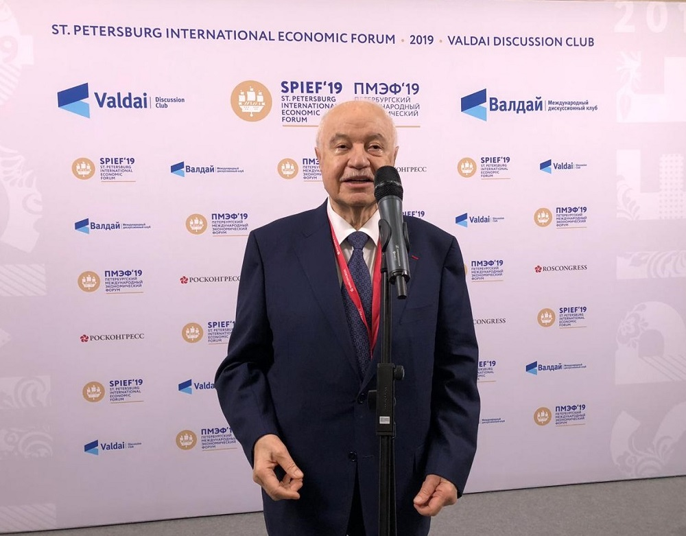 Abu-Ghazaleh Key Speaker from the Arab Region at St. Petersburg International Economic Forum