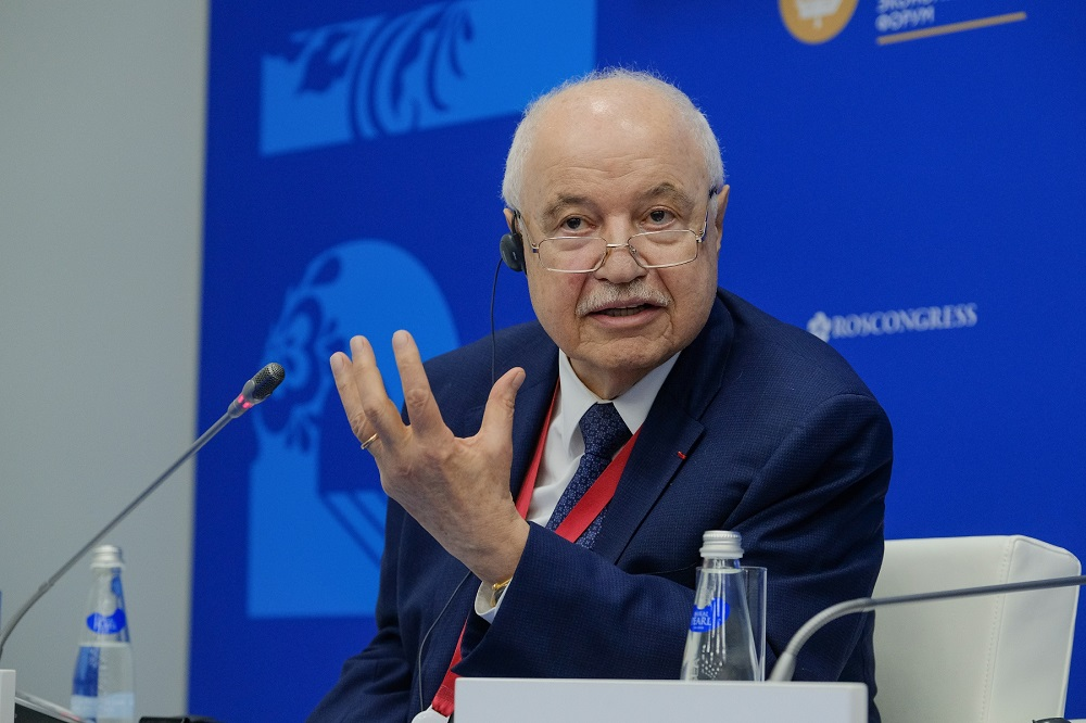 Abu-Ghazaleh Sends a Message to Russia