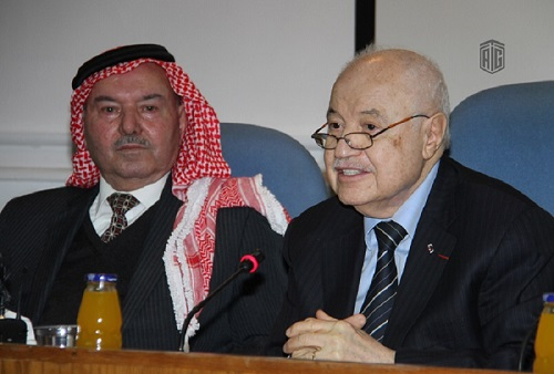 "Freedom Center for Development and Human Rights hosts HE Dr. Talal Abu-Ghazaleh in a panel discussion entitled ""Jerusalem in the Memory of Al Salt"""