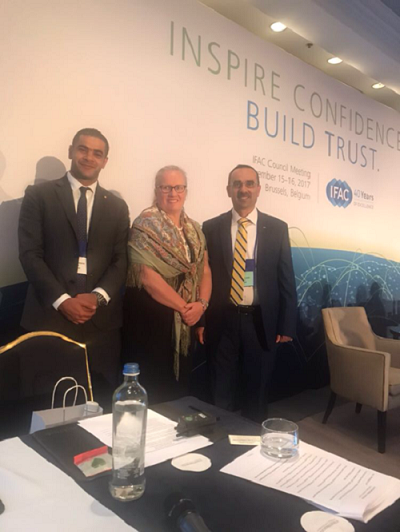 The International Arab Society of Certified Accountants (IASCA) participates in the International Federation of Accountants (IFAC) Annual Council Meeting held in Brussels