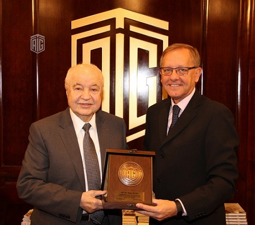 Abu-Ghazaleh Discusses with Director of UNRWA Operations in Jordan His 'UNRWA Schools Fund' Initiative