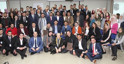 "Abu-Ghazaleh Patronizes the Annual Ceremony of the National Forum for Youth to Honor ""Pioneers in Community Giving"""