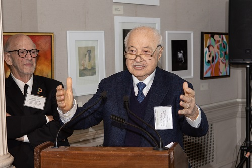 Abu-Ghazaleh Receives United Nations CSU President's Award
