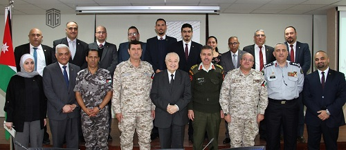 Abu-Ghazaleh Stresses Importance of Strategic Partnership with Armed Forces and Security Apparatus in the Training fields