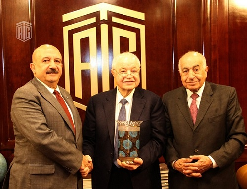 Abu-Ghazaleh and Secretary General of the Bosphorus Summit: 'New World System 2020' is Main Theme of the 10th Summit