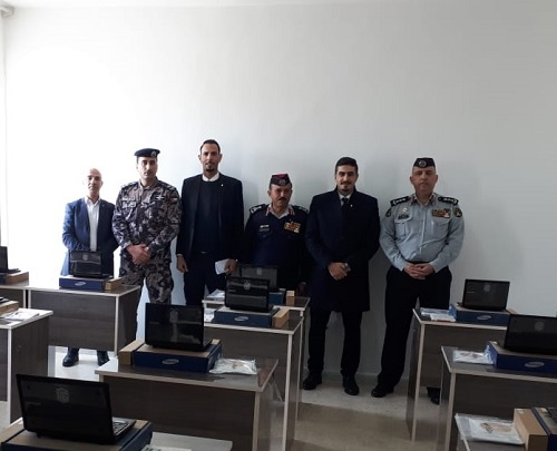 'Abu-Ghazaleh' Inaugurates Two Knowledge Stations at Civil Defense Directorate