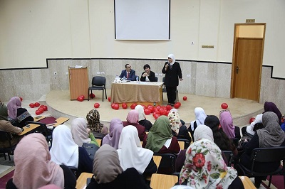 "A panel discussion on ""Talal Ibn Adibah"" story at Palestine Technical University – Kadoorie"
