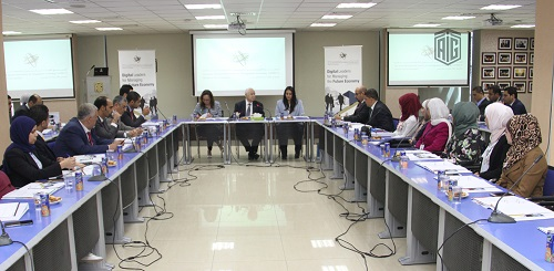 HE Dr. Talal Abu-Ghazaleh chairs the annual meeting of the Arab International Society for Management Technology (AIMICT)