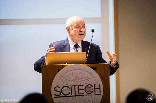HE Dr. Talal Abu-Ghazaleh delivers concluding remarks at MIT