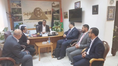 Talal Abu-Ghazaleh Organization (TAG-Org) in Ramallah discusses prospects for cooperation with a number of institutions in Jericho