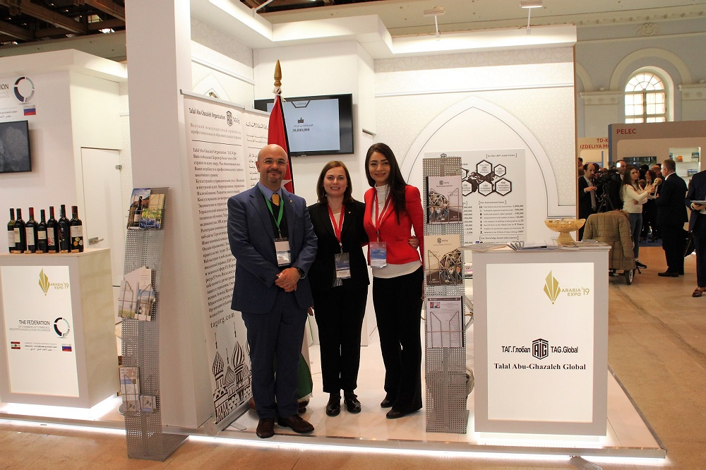 Talal Abu-Ghazaleh Global Participates in Arabia-EXPO 2019 in Moscow