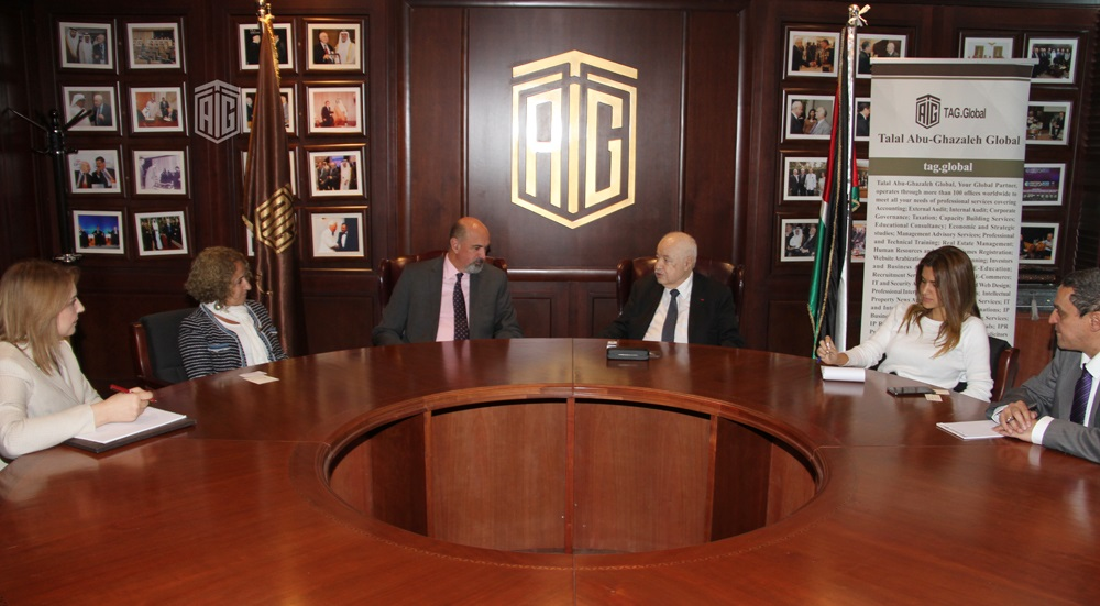 Talal Abu-Ghazaleh receives Australian Ambassador regarding TAGUCI and TAGGLOBAL Office in Sydney