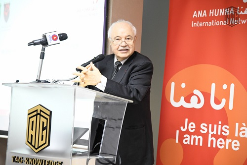 "Abu-Ghazaleh Forum Hosts 'ANA HUNNA' International Network's ""Innovation for Economic Empowerment of Women' Discussion Session"