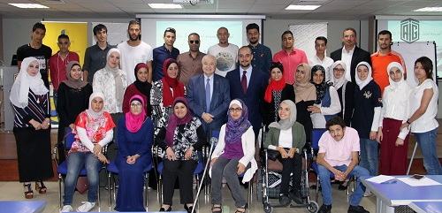 Talal Abu-Ghazaleh Knowledge Forum hosts a training workshop entitled Creative Youth for A Promising Future for people with special needs