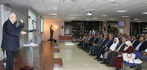 Abu-Ghazaleh Inaugurates the 1st Scientific Conference for Jordanian Doctorate Holders Association