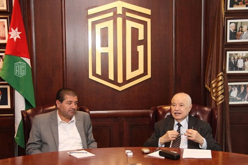 Abu-Ghazaleh and Addustour Discuss strategic partnership