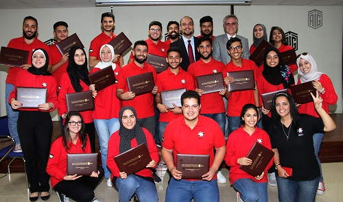"""TAG-Org"" Concludes ""Management and Life Skills"" Course for 'Haqiq' Initiative in Governorates"